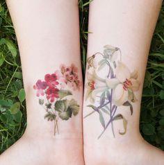 Temporäre DIY Tattoos by Nur noch - DIY Anleitung