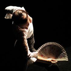 abanico flamenco - Rebeca Tomás 'A palo seco'