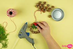 """9 pomysłów DIY na naturalne ozdoby choinkowe i wizyta w """"Pytaniu na śniadanie"""" - Twoje DIY Xmas Decorations, Christmas, Diy, Pictures, Xmas, Bricolage, Navidad, Do It Yourself, Noel"""