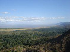 Lake Manyara at the Great Rift Valley