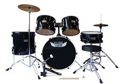 Stage Rocker 5pc drum set with double-braced hardware (Cymbals, Stool and Sticks included) - Black Stage Rocker http://www.amazon.com/dp/B0098FG6AG/ref=cm_sw_r_pi_dp_Bz3rwb1FHX3FA