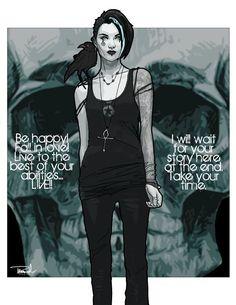 Death / Sandman - Rosana Raven ☥~ by Thomas Branch