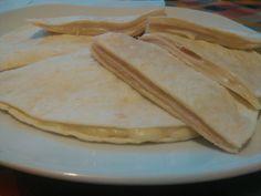 Cena rápida. Quesadillas de jamón y queso. Delicious!! #gourmetbilbao