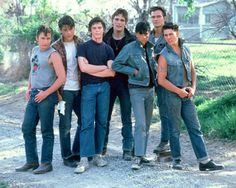 cast of The Outsiders