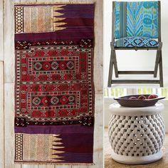 Tribal-Inspired Home Decor