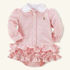 Baby Girl Clothing | Newborn Girl Clothes | Ralph Lauren