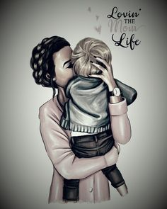 Today, right? Mommy And Son, Mom Son, Mom And Baby, Mother Daughter Art, Mother Art, My Children Quotes, Meaningful Pictures, Pregnant Mother, Cartoon Girl Drawing