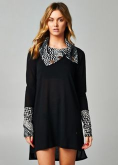 Light knit Tunic dress CA$39.99