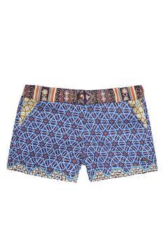 Scotch R'Belle Shorts met print en borduring • de Bijenkorf