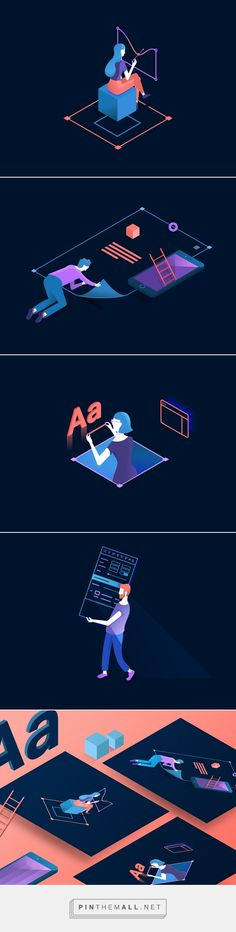 Digital Design on Behance... - a grouped images picture - Pin Them All