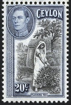 King George VI Postage Stamps: Ceylon 1938-49