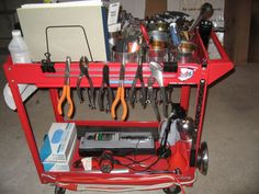 tool cart u003e get organized