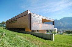House in Liechtenstein. k_m architektur. Copper cladding
