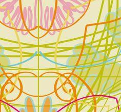 Tiled Tribal - MIRANDA MOL: SURFACE PATTERN DESIGN
