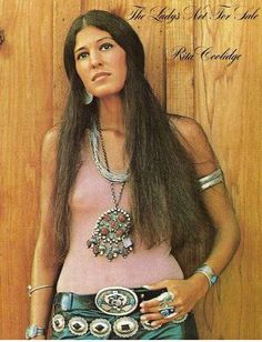 """Listen to music from Rita Coolidge like We're All Alone, All Time High - From The """"Octopussy"""" Soundtrack & more. Find the latest tracks, albums, and images from Rita Coolidge. Native American Actors, Native American Cherokee, Native American Beauty, Native American History, American Indians, Cherokee Indians, Cherokee Nation, American Songs, American Spirit"""