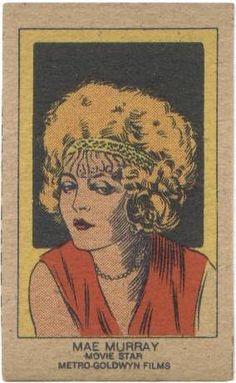 Mae Murray Strip Card