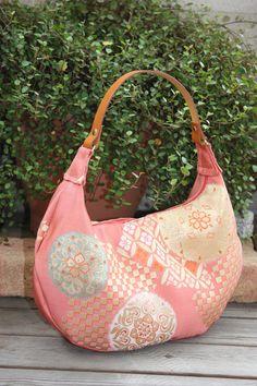 pink crescent bag