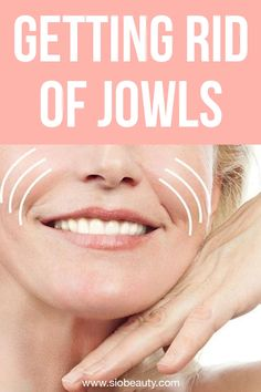 Get rid of jowls - Sagging skin on face and neck. Discover the fastest and most effective way to tighten up your cheeks and make jowls disappear for a younger looking appearance Facial Exercises For Jowls, Face Exercises, Jowl Exercises, Sagging Cheeks, Sagging Face, Face Skin, Face And Body, Concealer, Wrinkle Remedies
