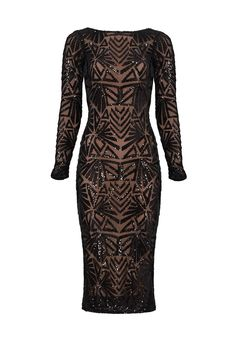 7a141f220d6 Rent Black Emery Dress by Dress The Population for  45 -  60 only at Rent  the