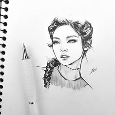 🖤🖤🖤🎀🎀🎀 I grouped the above mentioned questions about the pencil drawing that I received and … Kpop Drawings, Pencil Drawings, How To Draw Tumblr, Fanart Kpop, Girl Drawing Sketches, Sketch Art, Drawing Art, Art Du Croquis, Anime Sketch
