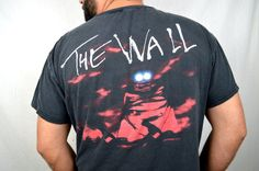 Vintage 1990s Pink Floyd The Wall 90s Tee Shirt by RogueRetro