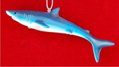 Mako Shark Personalized Christmas Ornament