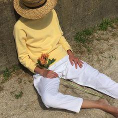 "Na Nin Vintage on Instagram: ""Vintage lemon cotton pullover. Size fits xs-m. $36 + shipping. SOLD"""