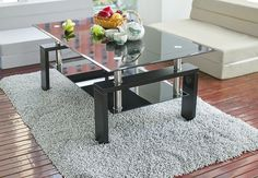 LITTLE BIG LIFE: Place your glass coffee table according to feng shui and you create wealth!