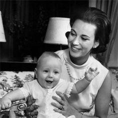 Northern King ♔ Princess Benedikte of Denmark (b. 1944) with her son Prince Gustav zu Sayn-Wittgenstein-Berleburg b. 1969