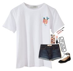 """""""Life Goes On - Bailey Bryan"""" by hashtagsmith123 ❤ liked on Polyvore featuring Hollister Co., Casetify, MAC Cosmetics, Karl Lagerfeld, Too Faced Cosmetics, Summer, outfit, rose, summerstyle and outfitbyhashtagsmith123"""