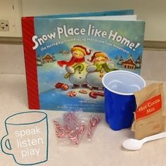 Early Childhood / Speech and Language Lesson / s-blends articulation / hot cocoa sequencing / vocabulary