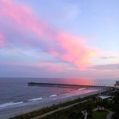 Take in the exquisite views of the Atlantic Ocean at Holiday Sands North on the Boardwalk, centrally located on the Myrtle Beach Boardwalk & Promenade | Just North of the 2nd Avenue Pier | Myrtle Beach | South Carolina | Photo via Instagram by @cdpalm39 | Click on the pin for more info and additional places to stay and play.