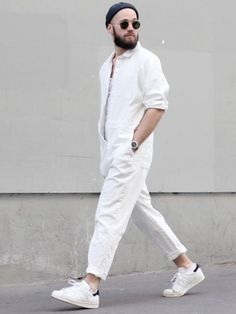 How to Wear Overalls For Men looks & outfits) Street Look, Men Street, Street Style, Fashion Moda, Mens Fashion, Street Fashion, Fashion 2016, Der Gentleman, Moda Blog