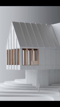 Landscape Architecture Model, Architecture Drawing Plan, Architecture Model Making, Conceptual Architecture, Minimalist Architecture, Architecture Portfolio, Interior Architecture, Architecture Diagrams, Arch Model