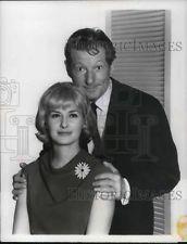 1966; Amerikaanse actrice Joanne Woodward en Danny Kaye.