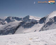 Alcazaba y mulhacen #hiking #mountains #sierranevada #europe #ice #landscape #landscapes...