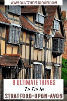 Europe Travel Guide, Iceland Travel, Travel Destinations, Travel Tips, Birmingham Airport, Shakespeare's Birthplace, Stuff To Do, Things To Do, Stratford Upon Avon