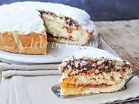 Torta monterossina ricetta dolce ripieno con crema | Arte in Cucina
