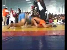 Baba Ramdev Exhibits Wrestling Skills On Ashram Foundation Day Video- http://shar.es/1HAlqk  #BabaRamdev #Wrestling