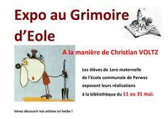 """Escapages: """"À la manière de Christian Voltz"""", exposition au Grimoire d'Éole à Perwez"""