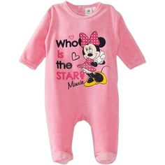 Disney Minnie Mouse HM0331 Baby Girl's Sleepsuit:Amazon.co.uk:Clothing