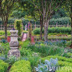 Pretty, Orderly Connecticut Garden