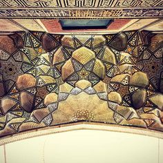 Celling of Jameh's mosque in Esfahan,Iran 900 years old Photo by @m1rasoulifard…