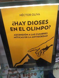 """""""¿Hay dioses en el Olimpo?"""" de Héctor Oliva. Librooks"""