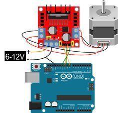 Arduino Cnc, Arduino Motor, Arduino Board, Diy Electronics, Electronics Projects, Arduino Stepper Motor Control, Motor Dc, Motor Speed, Arduino Controller