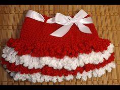 Crochet Faldita San Valentin - YouTube