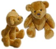DIY Baby Pip Jointed Teddy by craftbits: Excellent photos and details. #DIY #Teddy_Bear #carftbits