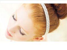 Tiara e Headband de Strass para Noiva