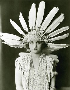 Vintage Glam Ziegfeld Follies Girl