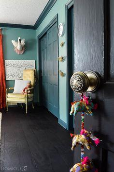 Nostalgic Warehouse Egg & Dart Vintage Reproduction Knob | Antique Brass Door knob | Vintage Door knobs | Bedroom Ideas | Little girls bedroom Ideas